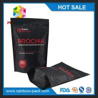 Customized Stand Up Food Packaging With ziplock and Colorful Printing