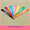 China make silicone rubber slap bracelet supplier wholesale