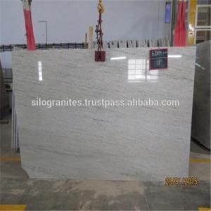 China 12 Foot White Granite Tile Countertop , Polished Granite Floor Tiles wholesale