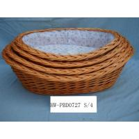 Buy cheap Willow wicker Pet beds, dog baskets from wholesalers