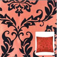 China Flocking Dupioni Fabric for pillow cases wholesale