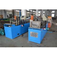 10 - 15 m / min PEB Top Hat Channel Roll Forming Machine with Hydraulic Cutting