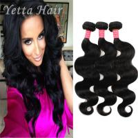 China Natural Color 6A Virgin Hair Indian Body Wave Hair Extensions Large Stock wholesale