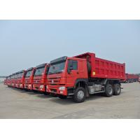 Buy cheap 9.726L Displacement 12 Wheel Dump Truck 2 Valve With 30m³ Cabbage Capacity from wholesalers