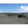 China Easy Install Modular Steel Bridges SS Single Single Type Bailey Truss Bridge wholesale