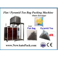 China Triangle nylon tea bag packing machine with outer envelope for Raspberry Green Tea wholesale