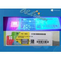 China Oem And Retail Key Windows 10 Pro Coa Sticker With Scratch Anti Fake Coating on sale