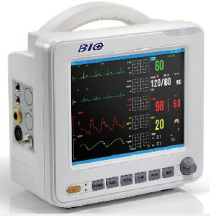 Quality 8 Inch High Resolution Multipara Patient Monitor with Color LCD Display for sale