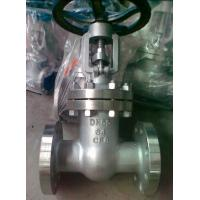 China API 600 Class 300 Flanged Gate Valve , 4 OS & Y Gate Valve Stainless Steel wholesale