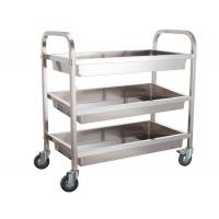 China Multi Layer Bakery Rack Trolley Food Cart Four Wheels For Kitchen Practical Use Push Smoothly wholesale
