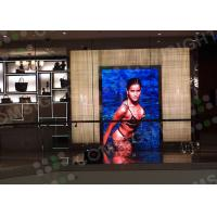 Buy cheap P4 Indoor / Outdoor Advertising Led Display Screen Full Color With 62500sqm Density from wholesalers