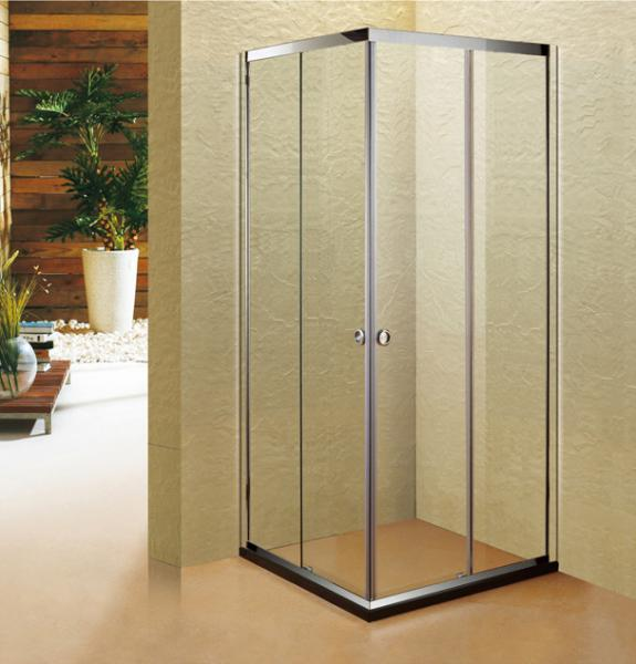 Quality Stainless Steel 304 Shower Cubicle 90*90 Shower Sliding Door for sale