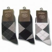 China Dress Socks (200 Needles), Suitable for Men, Available in Size of 40 to 46cm wholesale
