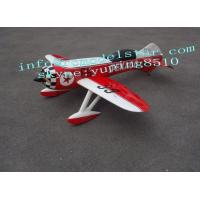 China Ultra Light Giant Model Airplanes Radio Controlled Of Gas Power , GeeBee R3 100cc wholesale