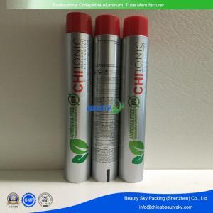 80g Volume M11 screw Printed Aluminium Tubes  for  Hair Color cream with colored cap