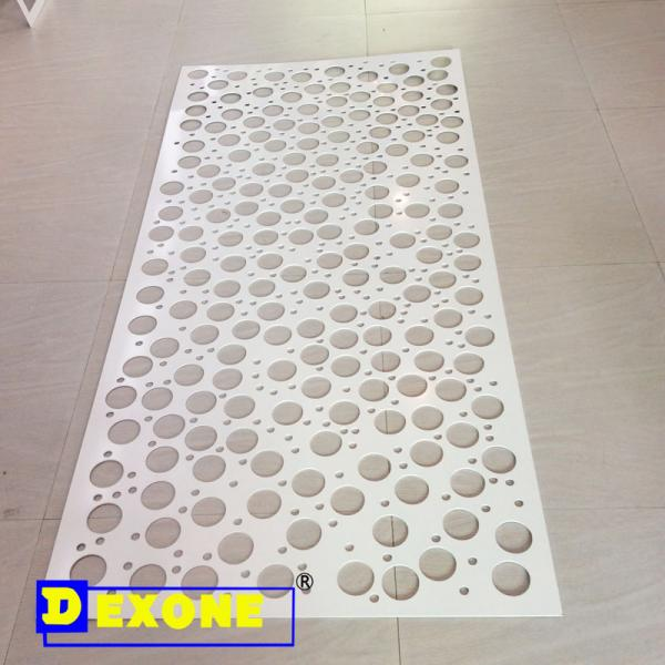 aluminium perforated panel
