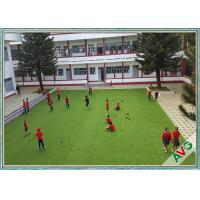 W Shape High Resilience Good Grainage Landscaping Artificial Grass