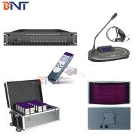 China Infrared Simultaneous Interpreter System , Conference Translation Equipment on sale