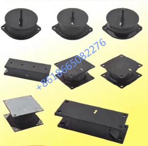 China Wheel Loader Anti - vibration Pad Rubber Engine Mounts / Excavator Spare Parts wholesale