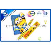 China Despicable Me Cartoon Kids Personalized Stationery Sets With OEM Logo Printing wholesale