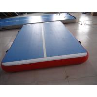 China 5cm Indoor Tumble Track Equipment , Blue Air Track Trampoline With ROHS/SGS CERT on sale