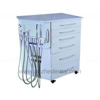 Buy cheap Good price factory high quality portable dental cabinet unit with wheel and compressor from wholesalers