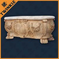 China Durability Luxury Natural Stone Bathtub With Free Standing For House wholesale