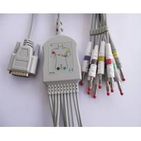 China 10 Lead 61cm IEC ECG Patient Cable For Nihon Kohden wholesale