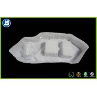 China White Plastic ESD Trays PVC With Embossing Pringting For Medication wholesale