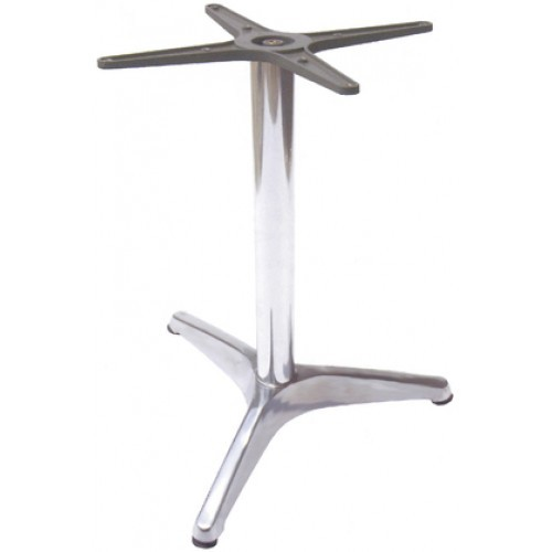 One Leg Tables Metal Table Base 3 Legs