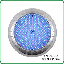 Quality IP68 Extra Flat Resin Filled Swimming Pool Underwater LED Light Display for sale