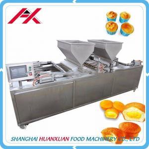 Stainless Steel Frame Bakery Cake Machine For Twinkie Cake 220V/50Hz Voltage