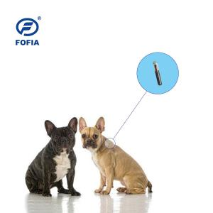 China LF Gps Tracking Microchip For Dogs , 134.3khz Animal Id Chip For Tracking wholesale