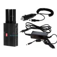 China Light Weight Handheld Cell Phone Jammer 3 W With 7.4V / 4700mAh Battery wholesale