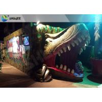China Electric Dynamic 7D Cinema System Dinosaur House In Entertainment Places wholesale