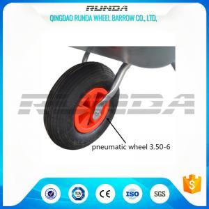 China Light Duty Small Size Pneumatic Swivel Wheels 25% Rubber Contain For Wheelbarrow wholesale