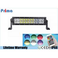 China 5D 22 Inch 120W Color Changing LED Light Bar Control By Phone APP Bluetooth wholesale