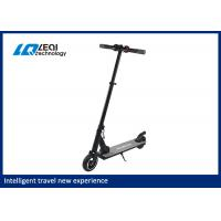 China Black Color Electric Folding Scooter / Fold Up Electric Scooter For Adults wholesale