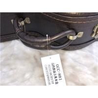 China Leather Waterproof Guitar Case / OEM Service Hard Cover Guitar Case wholesale