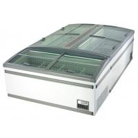 China -18 ~ -22℃ Supermarket Chest Deep Freezer With Glass Sliding Door For Meat on sale