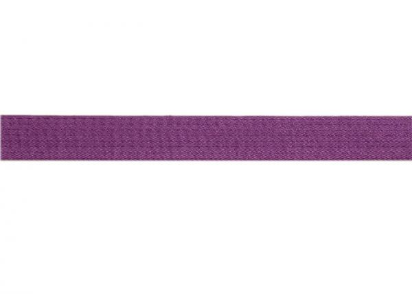 Quality Heavy Purple Embroidery Hemp Bjj Belt 0.5CM Height SGS Certificated for sale