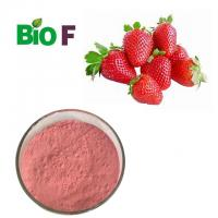 China Water Solube Fruit Extract Powder Strawberry Extract Powder  For Health Care wholesale