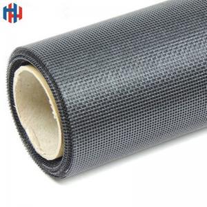 China PVC coated fiberglass fly screen mesh wholesale