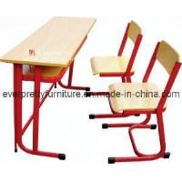 China Double Desk & Chair/Classroom Furniture/MDF Desks (GT-50) wholesale