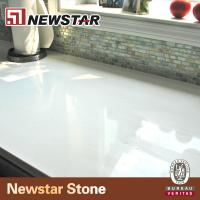 China low maintain snow white quartz countertop wholesale