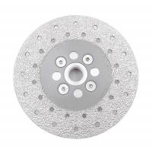 China Double Sided Diamond Cutting Blade & Grinding Disc 5/8-11 Flange Diamond Grinding Wheel wholesale