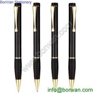China rubber grip twist metal ballpoint pen,metal twist metal ball point pen for gift promotion wholesale