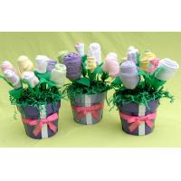 China Cool baby boy clothes bouquet 3-6 Months , baby washcloth bouquet present wholesale