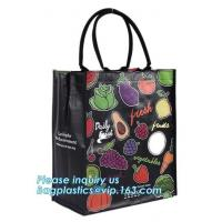 China Full color printing non woven bag made by 80gsm fabric non-woven shopping bag for shopping package, bagplastics. bagease wholesale