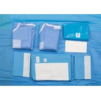 China Disposable Surgery Pack EO Gas Sterilization Customized Size For Scull Procedure on sale